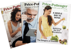 Photo of three journal issues with people on the covers