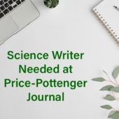 Science Writer Needed